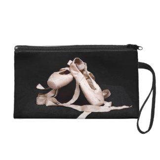 Ballerina Slippers Dance Wristlet Bag