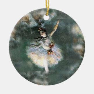 Ballerina - SRF Round Ceramic Decoration