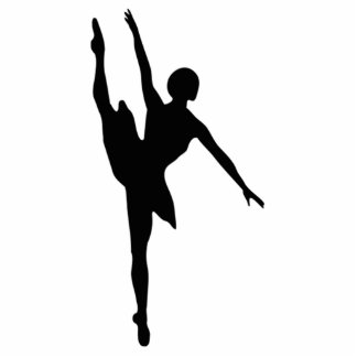 Ballerina Standing Photo Sculpture