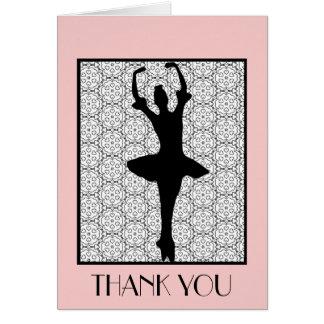 Ballerina - Teacher Appreciation Thank You Card