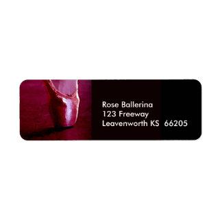 Ballerina Toe Shoe designer label