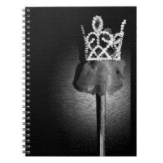Ballerina Wand Spiral Notebook