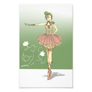 ballerina warrior print photographic print