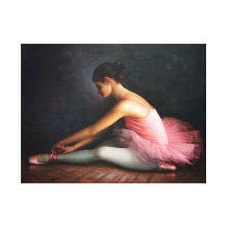 Ballerina Wrapped Canvas