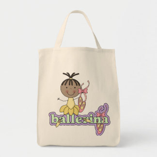 Ballerina - Yellow T-shirts and Gifts Tote Bags