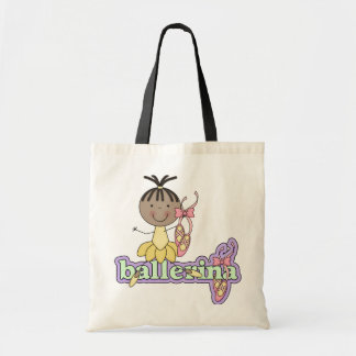 Ballerina - Yellow T-shirts and Gifts Canvas Bag