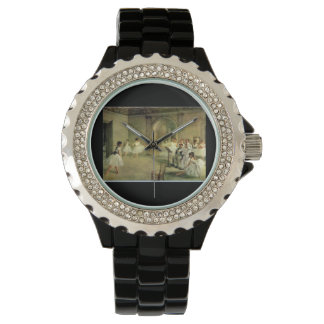 Ballerinas By Edgar Degas on Customizable Watches