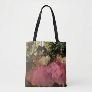 Ballerinas in Pink by Edgar Degas Tote Bag