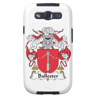 Ballester Family Crest Galaxy SIII Cases