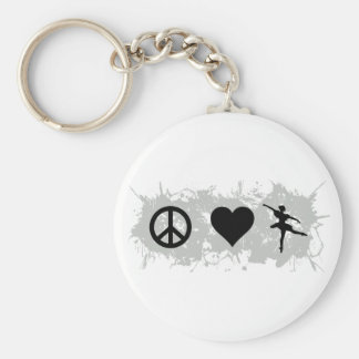 Ballet 5 key ring