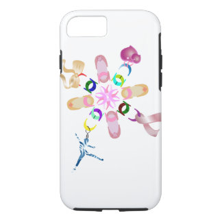 Ballet Assorted Floral Lucky Chain iPhone 8/7 Case