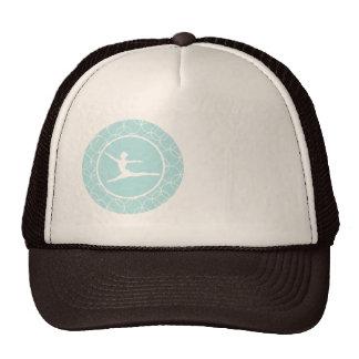 Ballet; Baby Blue Circles Mesh Hat