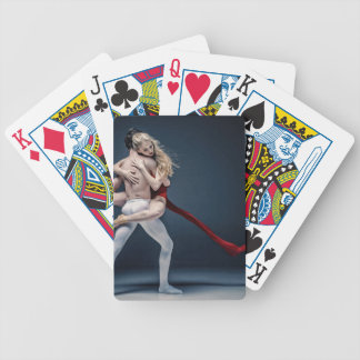 ballet bicycle playing cards