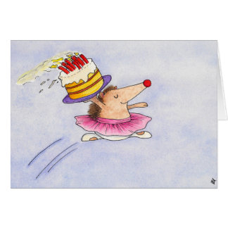 Ballet Birthday greeting card by Nicole Janes