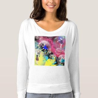 Ballet bubbles shirt