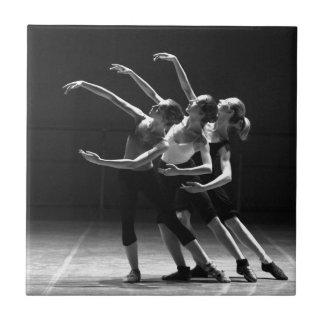ballet ceramic tile