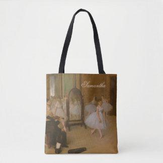 Ballet Class | Edgar Degas | Dancer Tote Bag