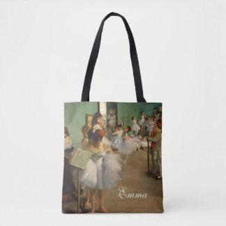 Ballet Class | Edgar Degas | Impressionist Tote Bag