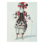 Ballet Costume Post Cards