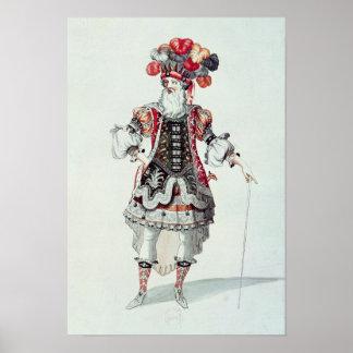 Ballet Costume Poster