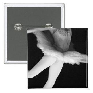 Ballet - Dance - Ballerina 9 - Black White Pins