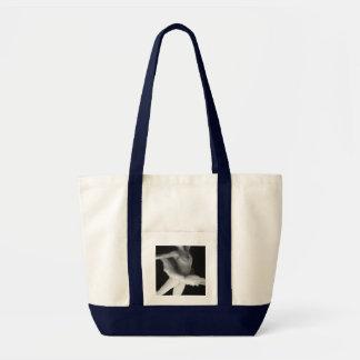 Ballet - Dance - Ballerina 9 - Black & White Tote Bag