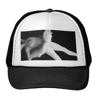 Ballet - Dance - Ballerina 9 - Black & White Cap