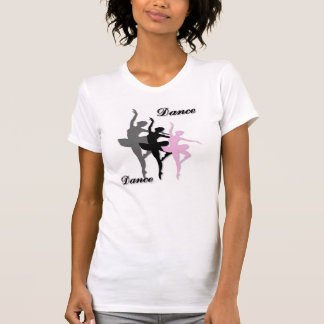 Ballet Dance Layered Ladie's T-Shirt