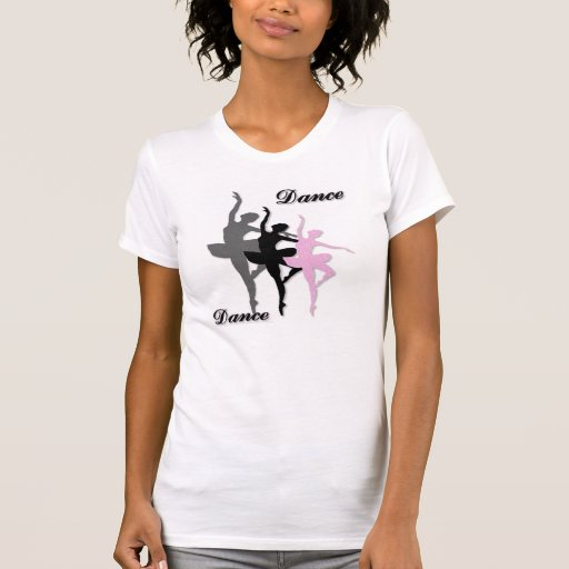 Ballet Dance Layered Ladie's T-Shirt