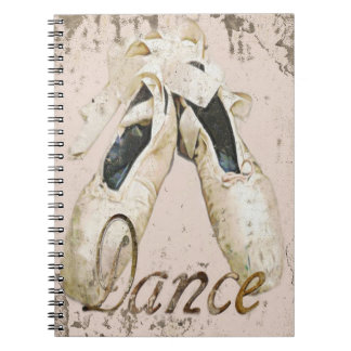 Ballet dance notebook1, Copyright Karen J Williams Notebooks