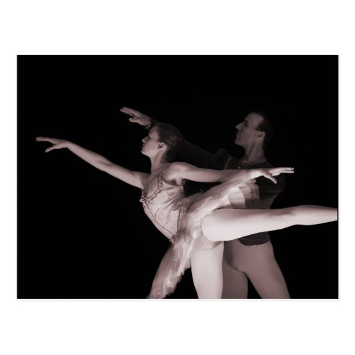 Ballet - Dance Partners 2 - Red Post Cards