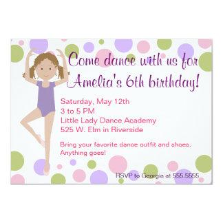 Ballet Dance Party Invitation