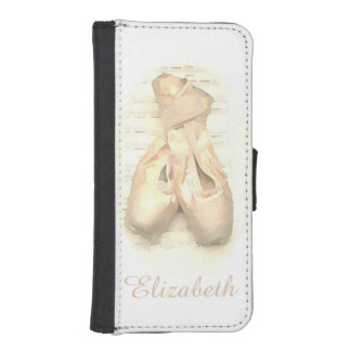 Ballet Dance Pointe Shoes iPhone Wallet Case