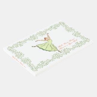 Ballet Dance  Recital  Memories or Guest Book