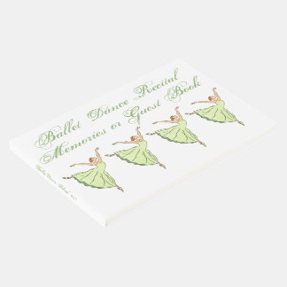 Ballet Dance Scchool Recital  Memories or Guest Book
