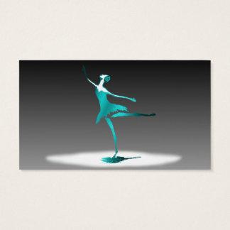 ballet dancer business card