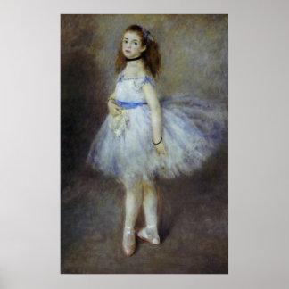 Ballet Dancer by Renoir Vintage Impressionism Art Print
