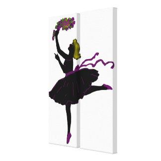 Ballet Dancer Canvas Prints