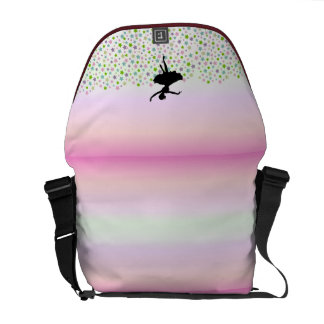 Ballet Dancer Dancing amongst the stars Messenger Bag