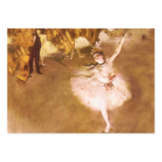 Ballet Dancer Degas Star Impressionist Painting Pack Of Chubby Business Cards