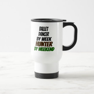 Ballet Dancer Hunter Travel Mug