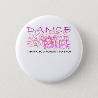 Ballet Dancer Merchandise 6 Cm Round Badge