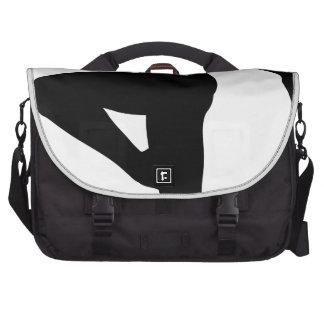 Ballet Dancer Silhouette Laptop Bag