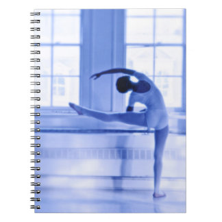 Ballet Dancer Spiral Note Book