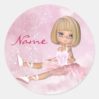 Ballet Dancer Stickers - Ballet Sticker