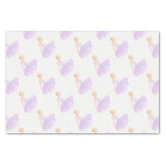 Ballet dancer tissue paper