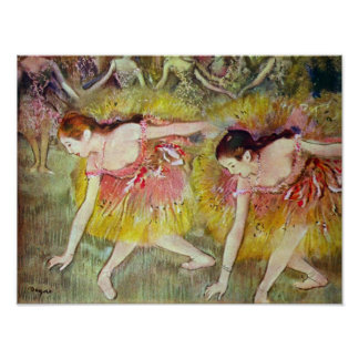 Ballet dancers by Edgar Degas Poster