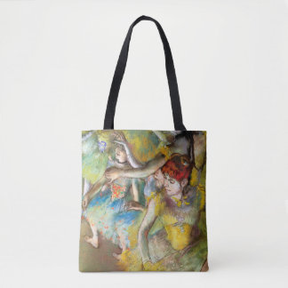 Ballet Dancers on Stage by Degas Tote Bag
