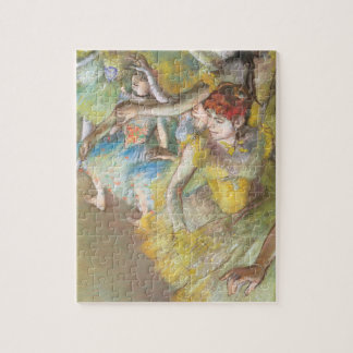 Ballet Dancers on the Stage by Edgar Degas Jigsaw Puzzle