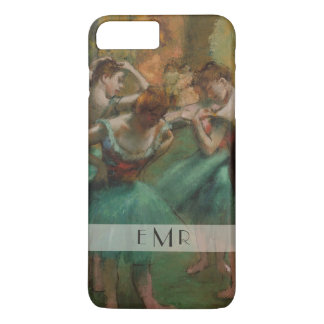 Ballet Dancers Pink & Green | Edgar Degas iPhone 8 Plus/7 Plus Case